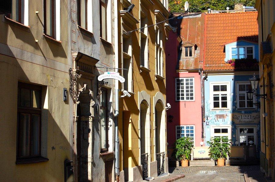 Edificios em Riga