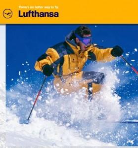 Lufthansa com Tarifas Especiais para destinos de neve