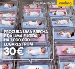 Ofertas low cost na Vueling