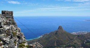 Vista panorâmica da Cidade do Cabo