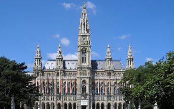 Rathaus-Viena. Autor: Gryffindor sob licença Creative Commons Attribution ShareAlike 3.0