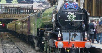 Viajar de comboio na Escócia e Inglaterra
