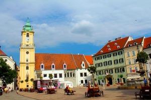 Circuito turístico na Europa Central