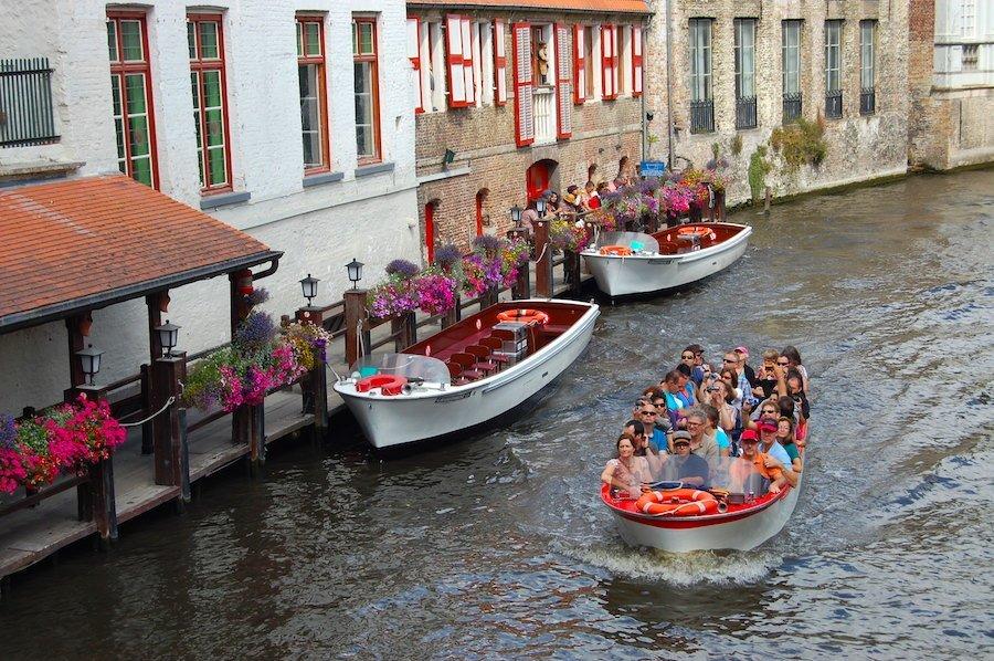 Passeios de barco em Bruges