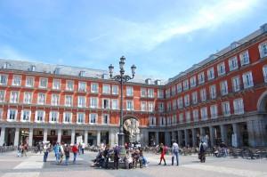 Plaza Mayor em Madrid