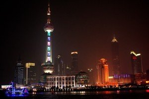 Pudong em Xangai