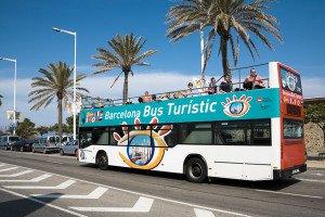 Descobrir Barcelona nos autocarros turísticos