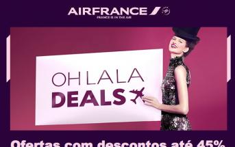 Voos baratos na Air France