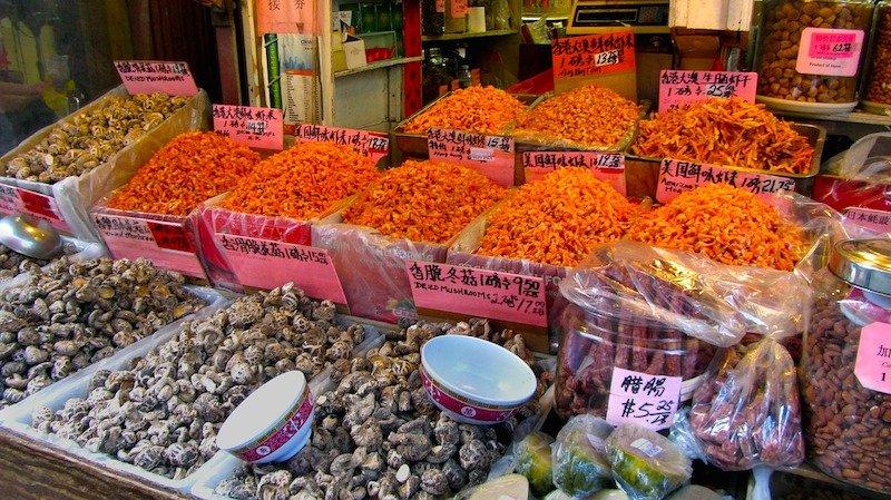 Bairro de Chinatown em Vancouver