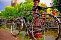 Descobrir Amesterdão de bicicleta