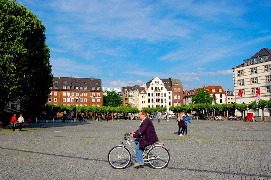 Fim de semana em Dusseldorf