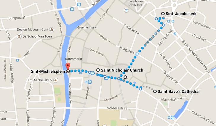 O que ver e fazer em Ghent