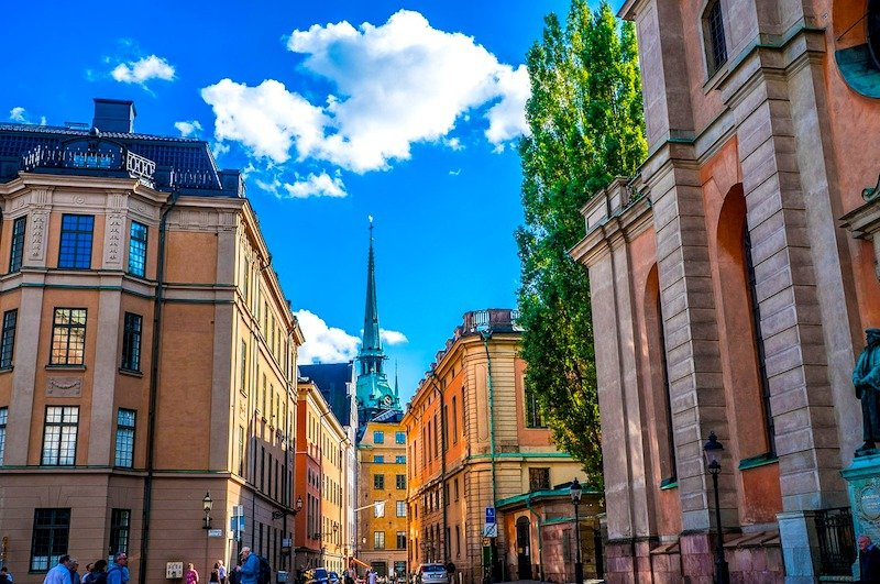 Visita ao centro histórico de Estocolmo