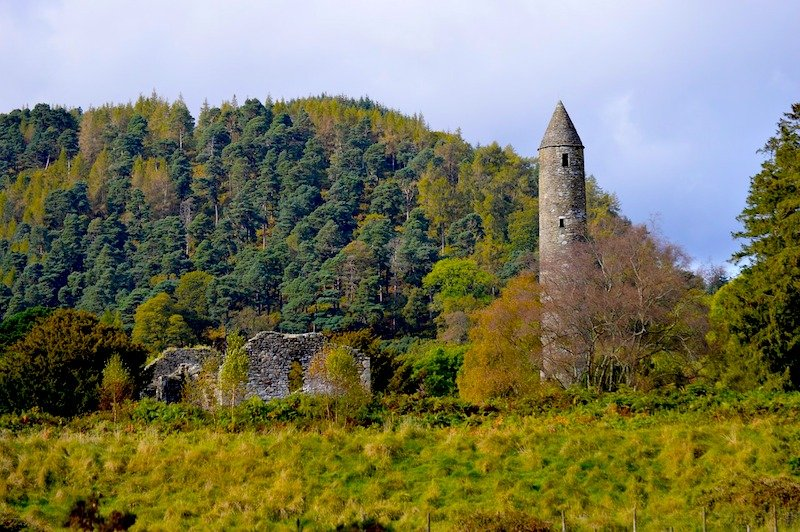 Centro monástico de Glendalough