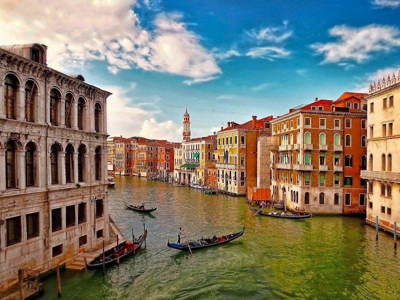 Vista panorâmica de Veneza