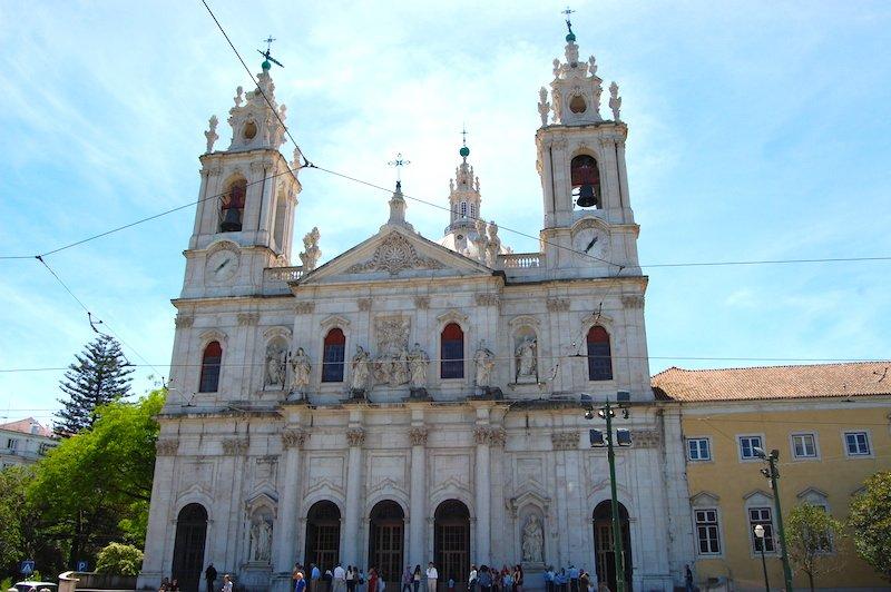 Vistas da Basílica da Estrela