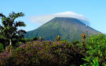 Vulcão Arenal na Costa Rica