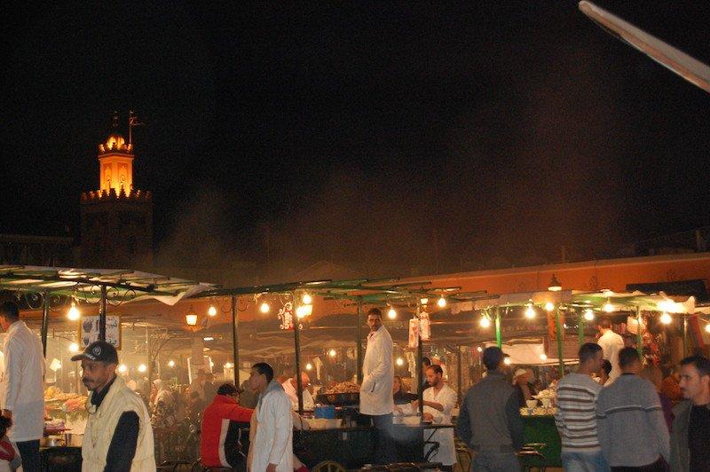 Noite em Marraquexe