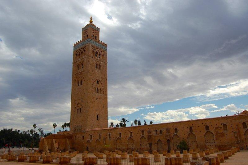 Panorâmica da Mesquita Koutobia