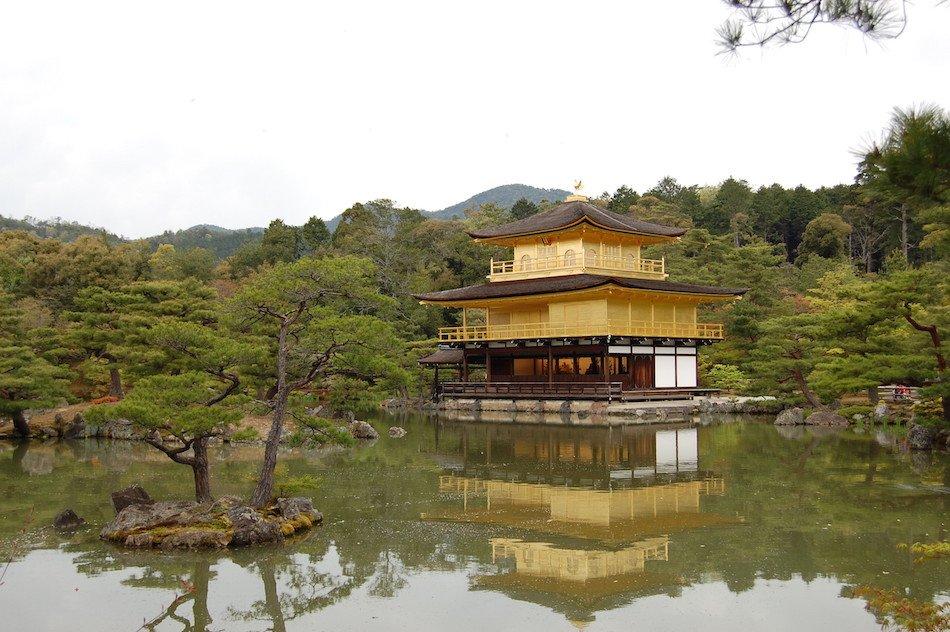 Pavilhão Dourado em Quioto
