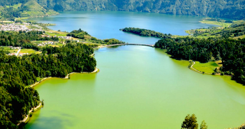 Vistas para a Lagoa das Sete Cidades