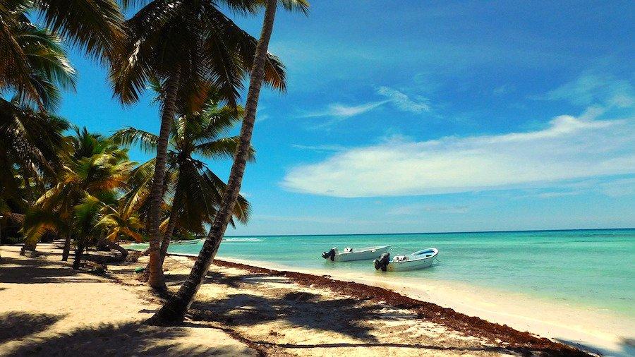 Saona na República Dominicana