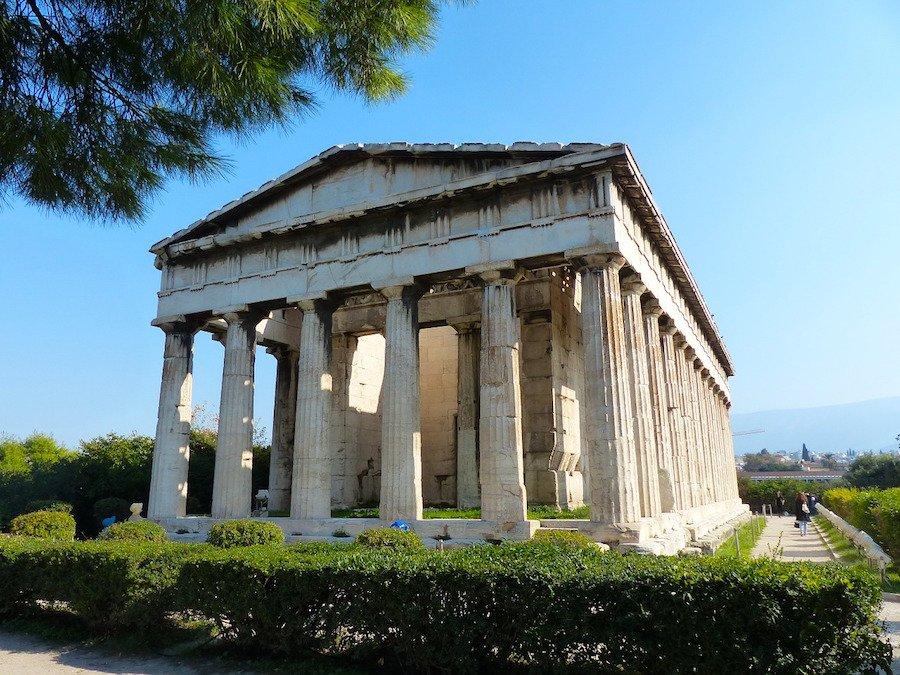 Sitios arqueológicos em Atenas