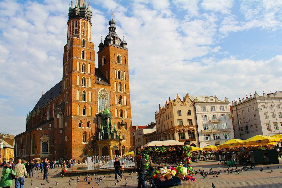 Igreja em Cracóvia