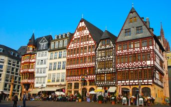 Centro histórico de Frankfurt