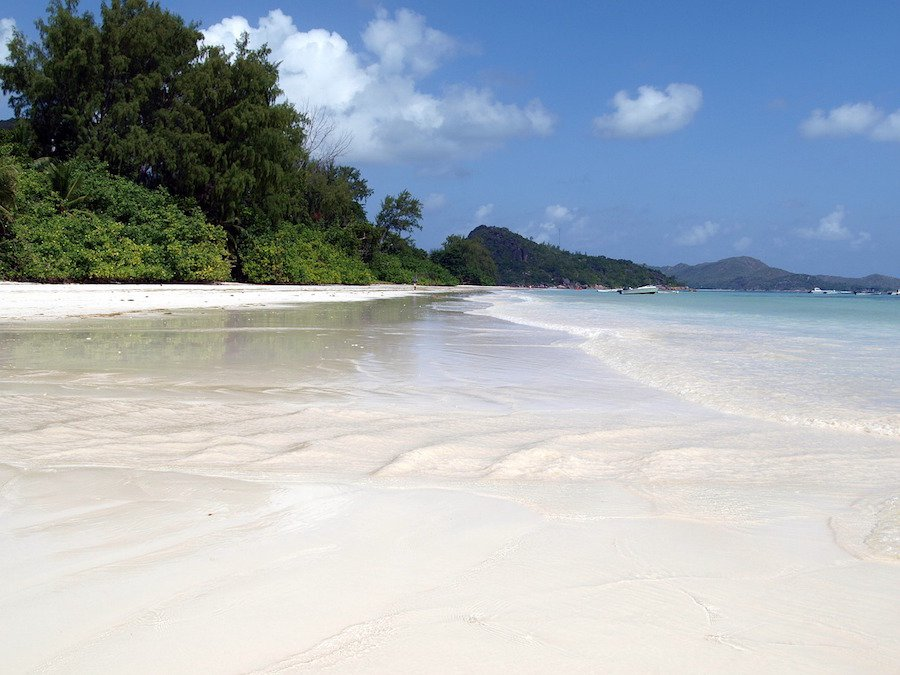 Praias nas Seychelles