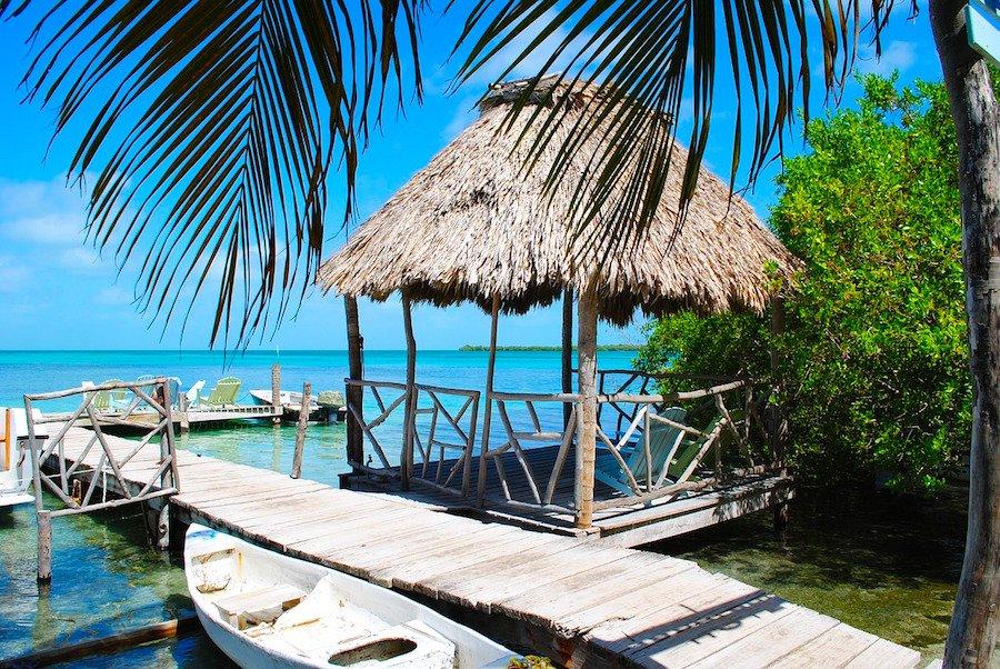 Ilhas no Belize